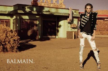 Balmain Spring 2009 Ad Campaign