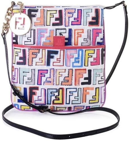 Fendi Canvas Cross-Body Bag $370