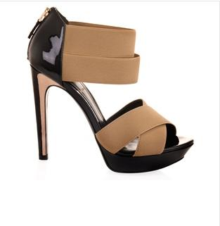 Fendi Elasticated Platform Sandal $362