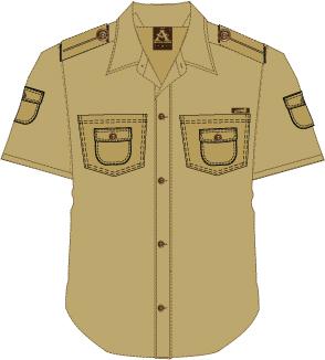 Adonai Safari Shirt