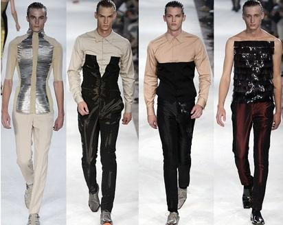 Alexander McQueen Spring 2009 Men's Collection