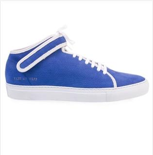 Common Projects Blue Mid-Top Sneaker $179