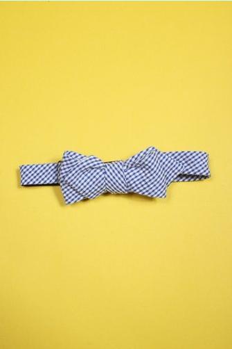 Alexander Olch Gingham Seersucker Pt Bow-Tie $105