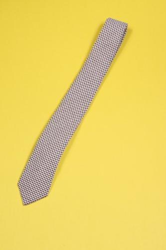 Alexander Olch English Gingham Seersucker Tie $140