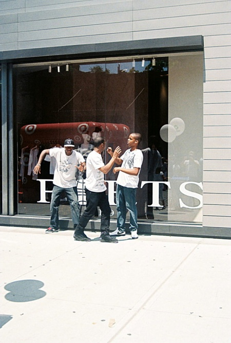 Street Dancers in front of the Ports 1961 Boutique, New York