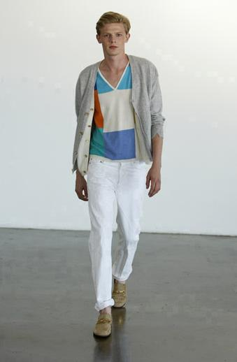 Victor Glemaud Spring 2009 Collection Look 1
