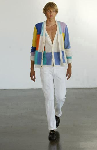 Victor Glemaud Spring 2009 Collection Look 5