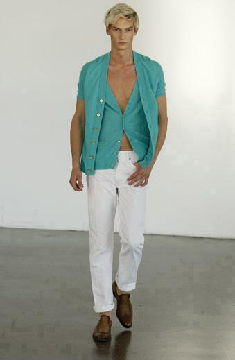 Victor Glemaud Spring 2009 Collection Look 6