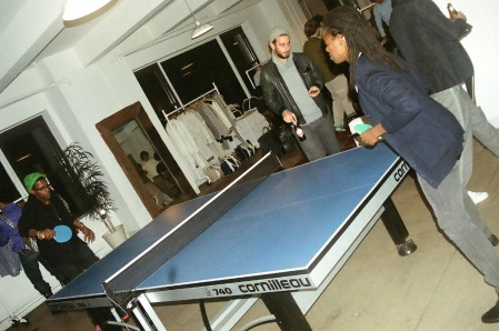 Those Guys Love Some Damn Ping Pong!!