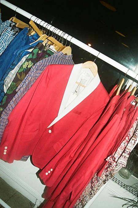 I want this blazer!! From Vintage Red..I think..by this time I was a little buzzed! HAHA!