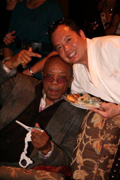 Chef Lee & Quincy Jones